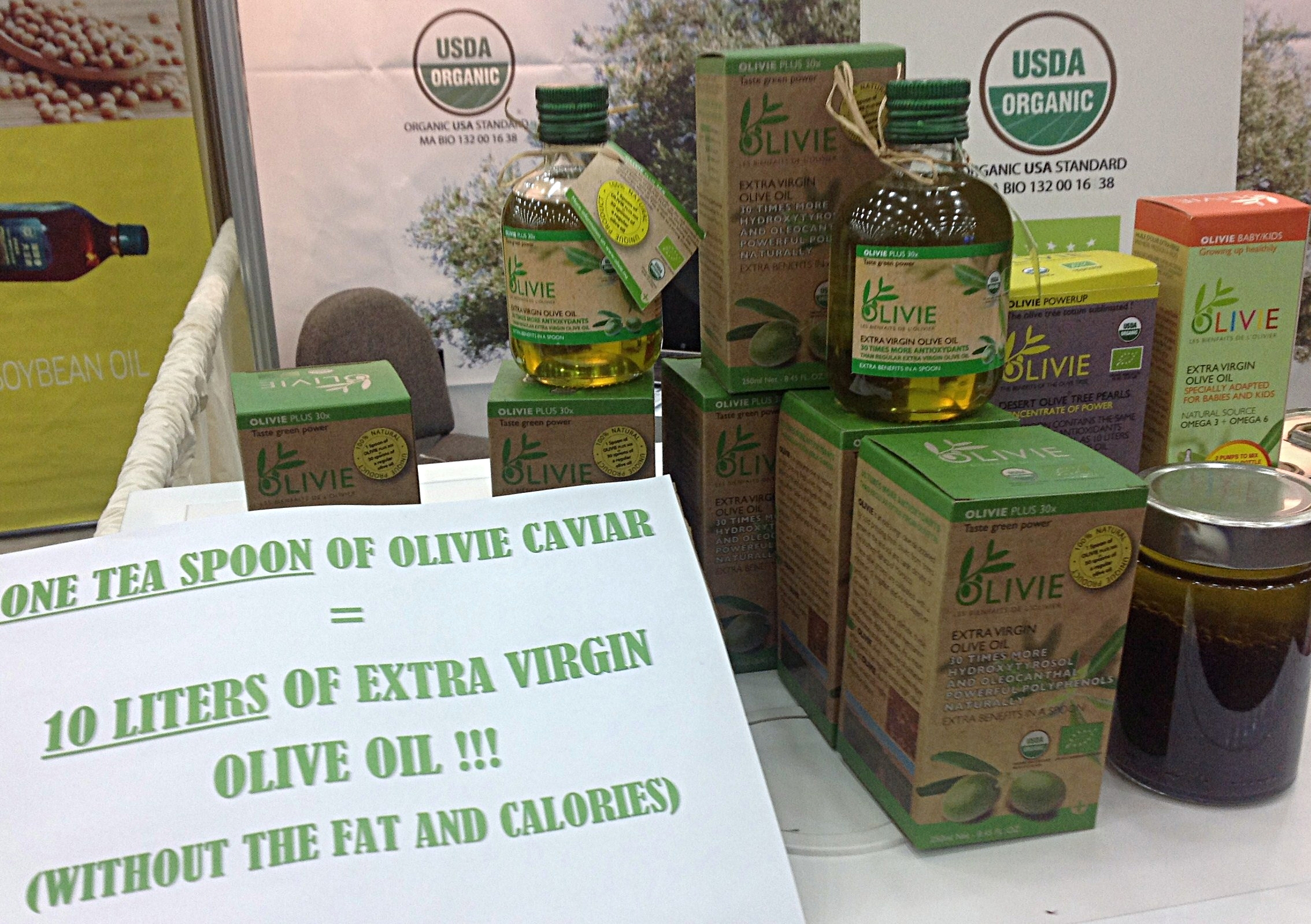 The best olive oil in the world.