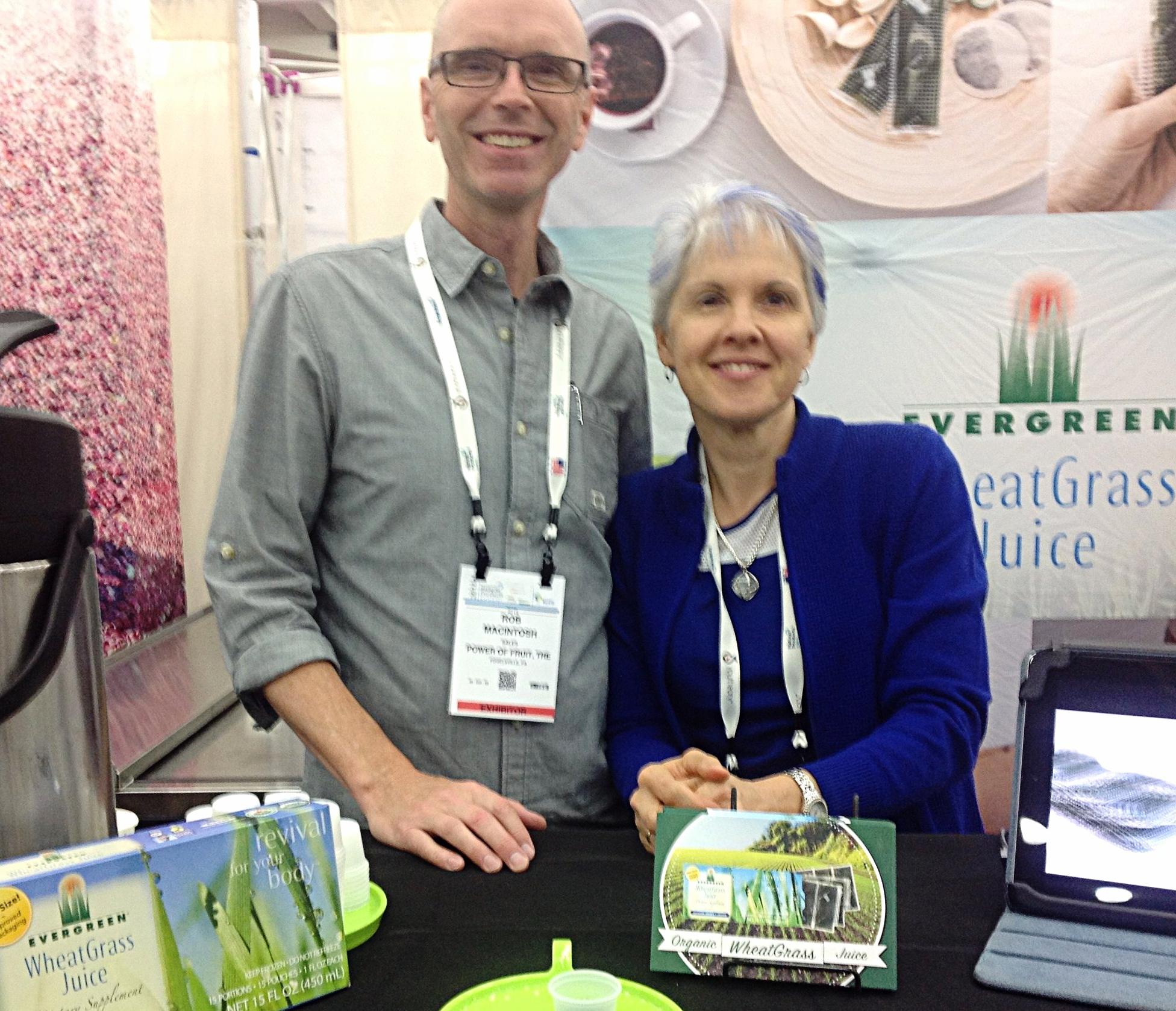 Rob & Carol McIntosh of Evergreen Juices
