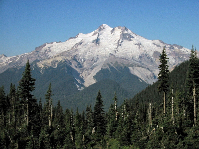 Glacier Peak. I met Dan on the North side of this giant.