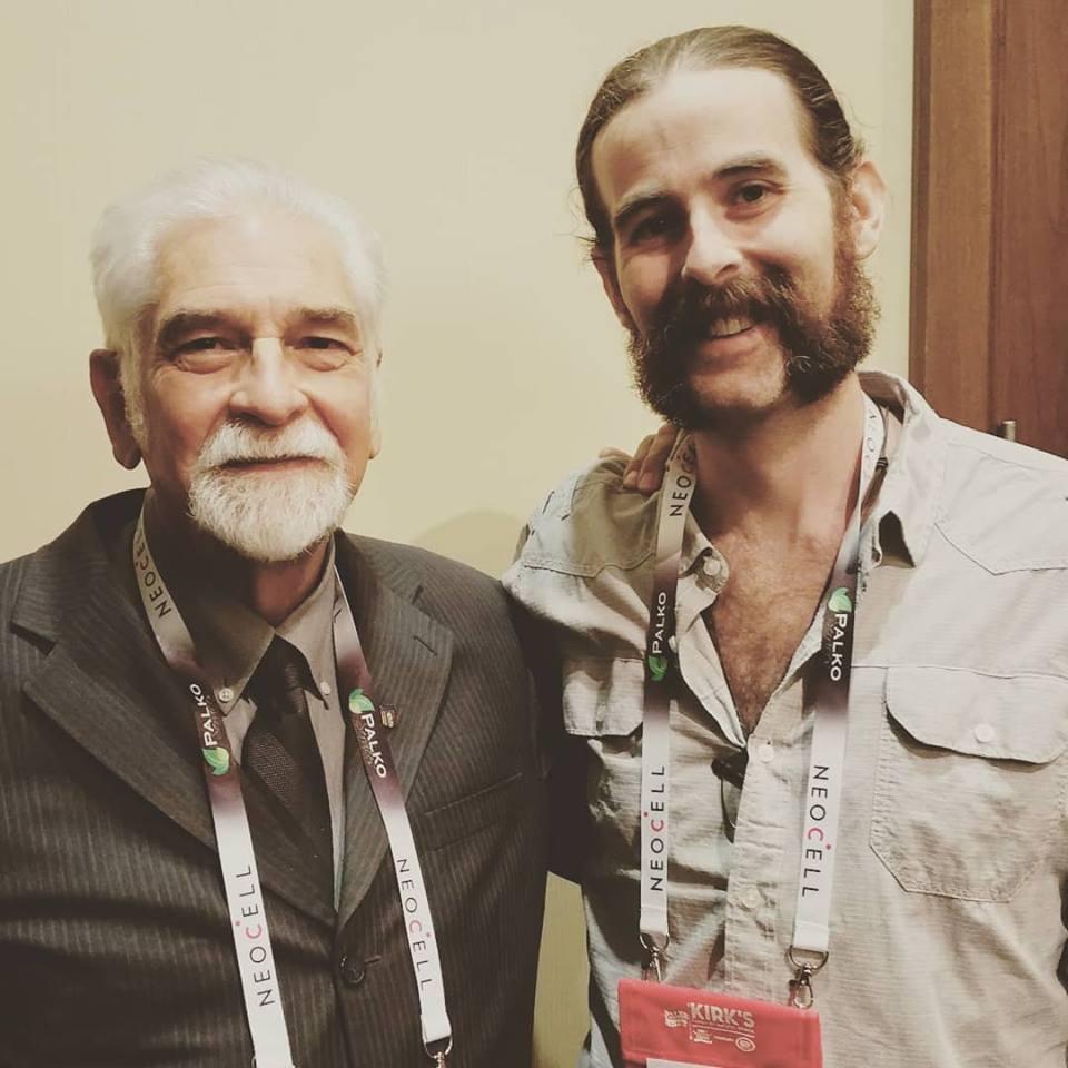 David Christopher & Derek Weaver April 2018 at the Palko Show
