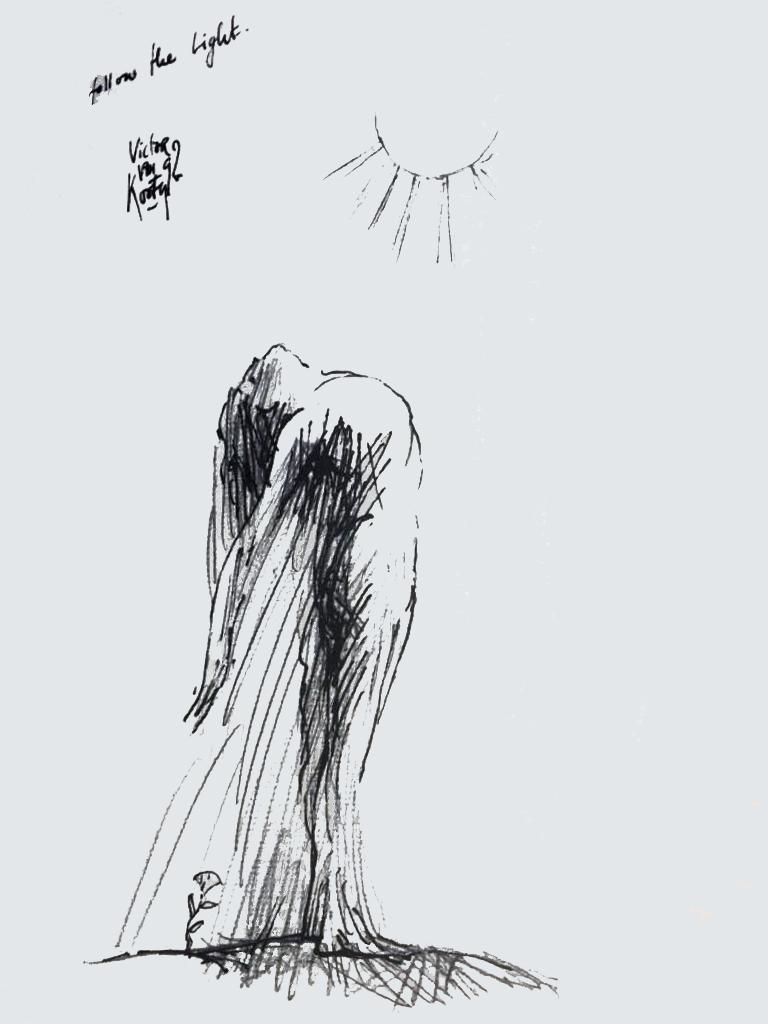 dibujo © Victor  Van Kooten
