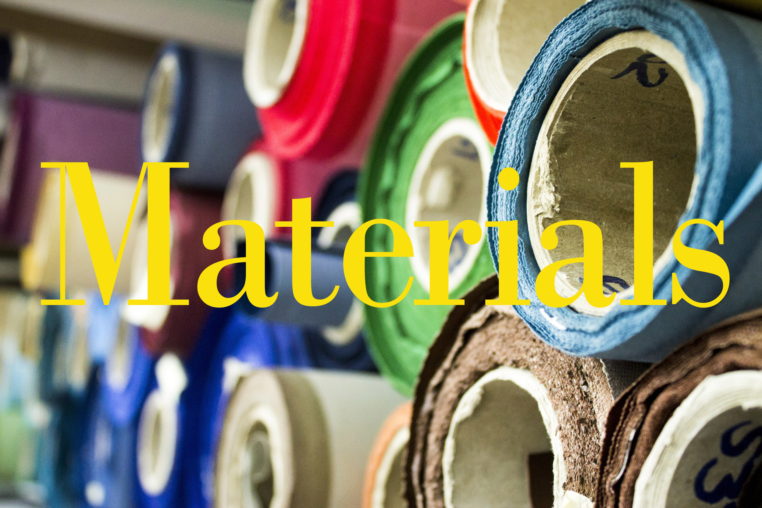 Buy materials online