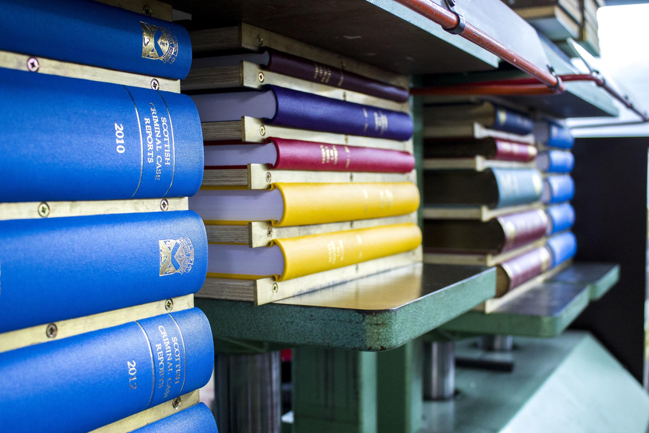 Periodical books in press