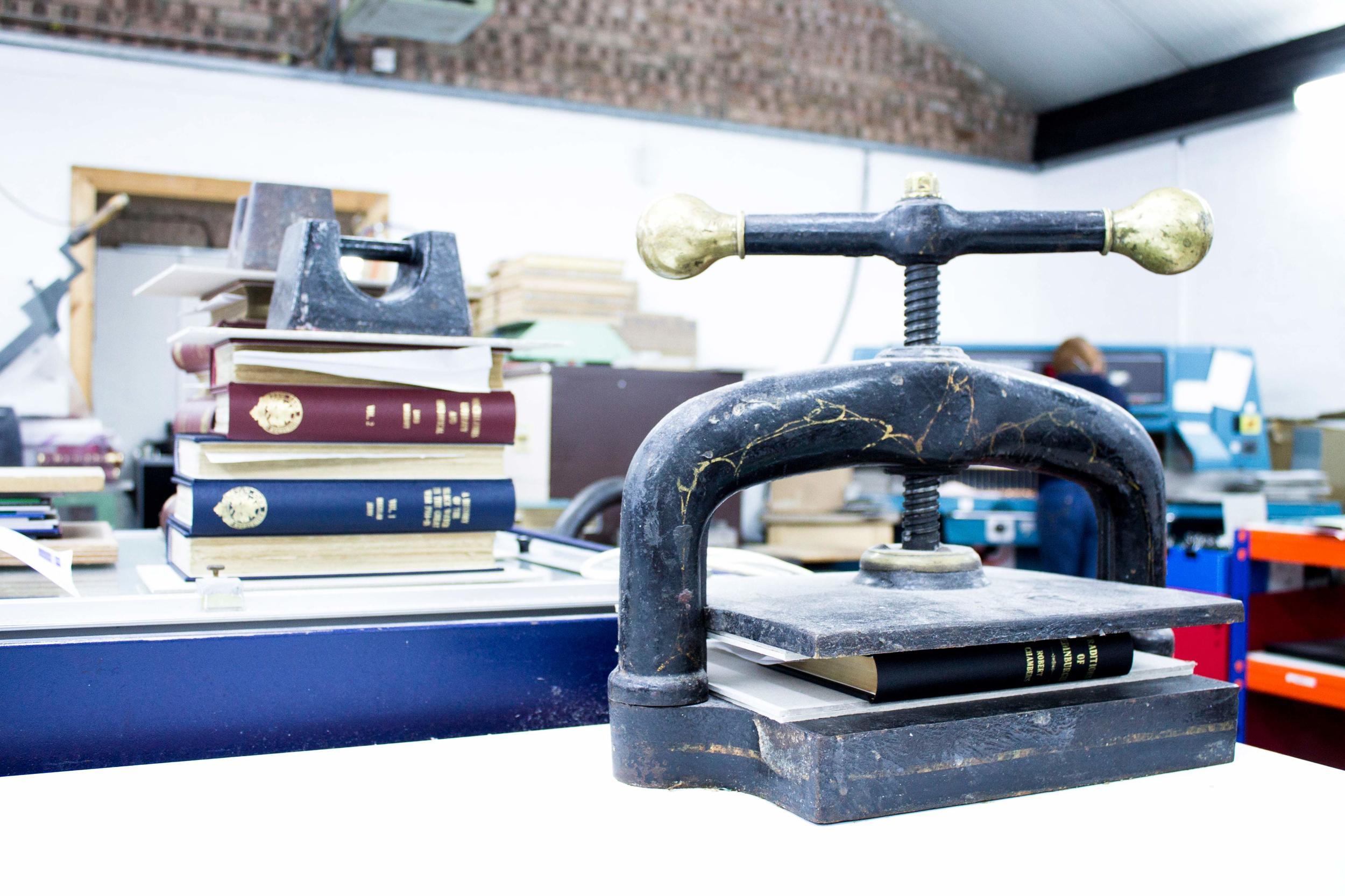 Bookbinding Studio