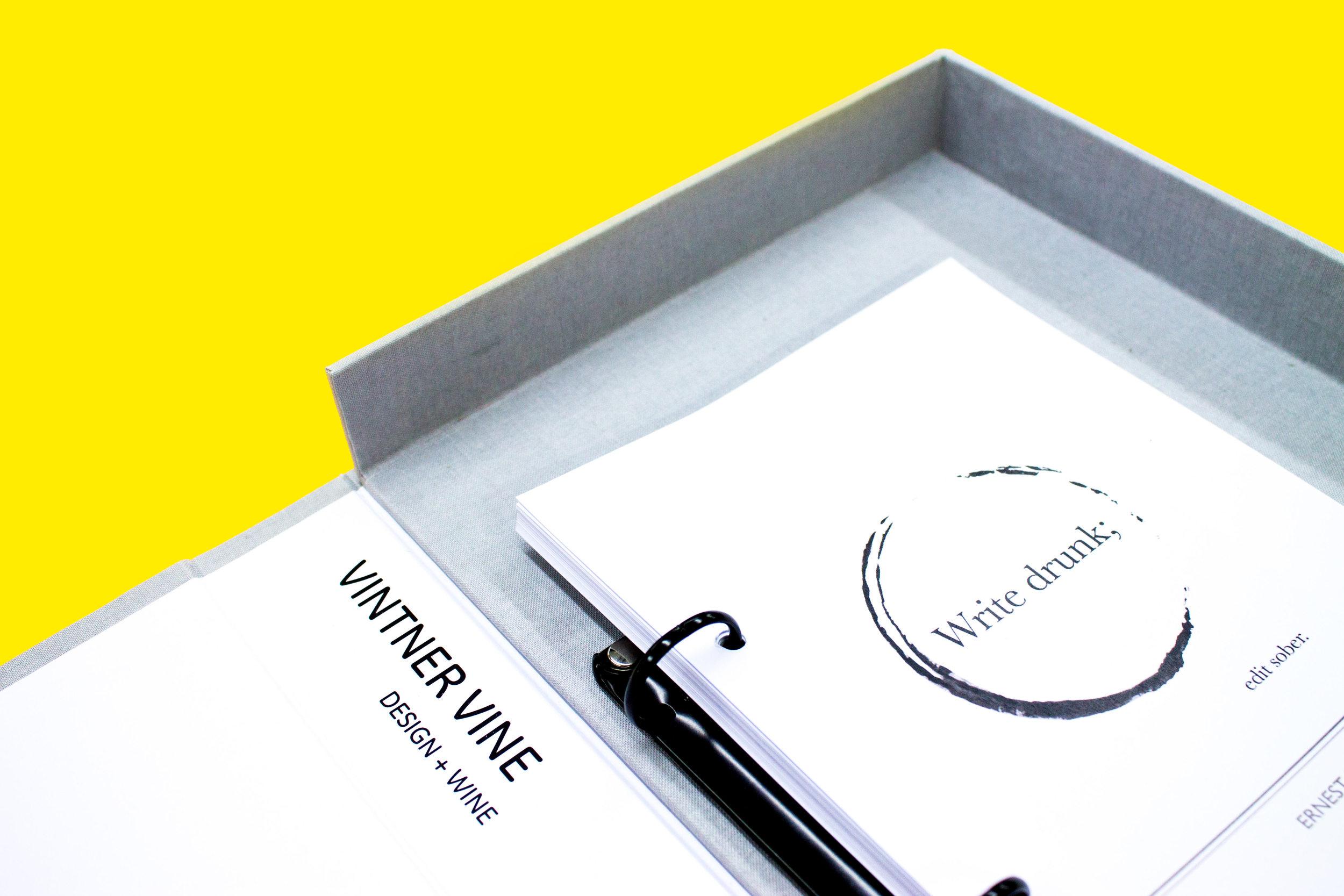 Bespoke artists box