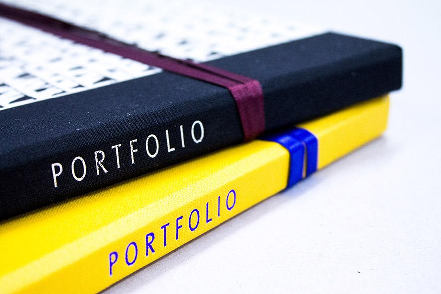 Bespoke custom-made artist portfolios