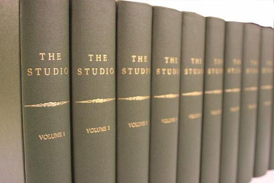Cloth periodical volumes