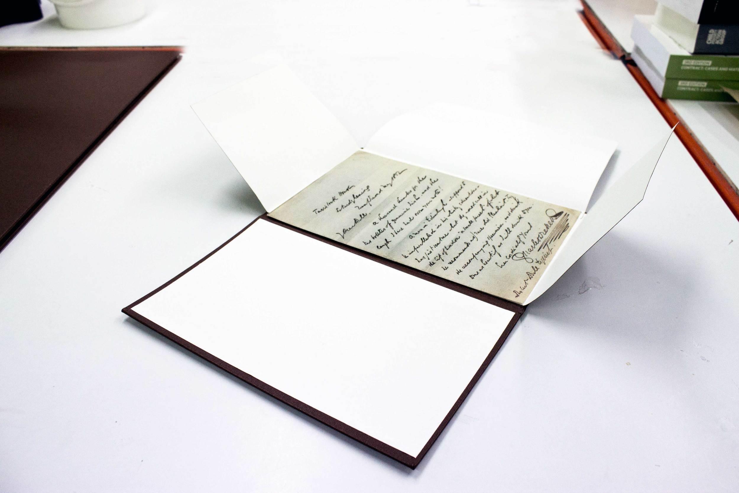 Archival box - flap case