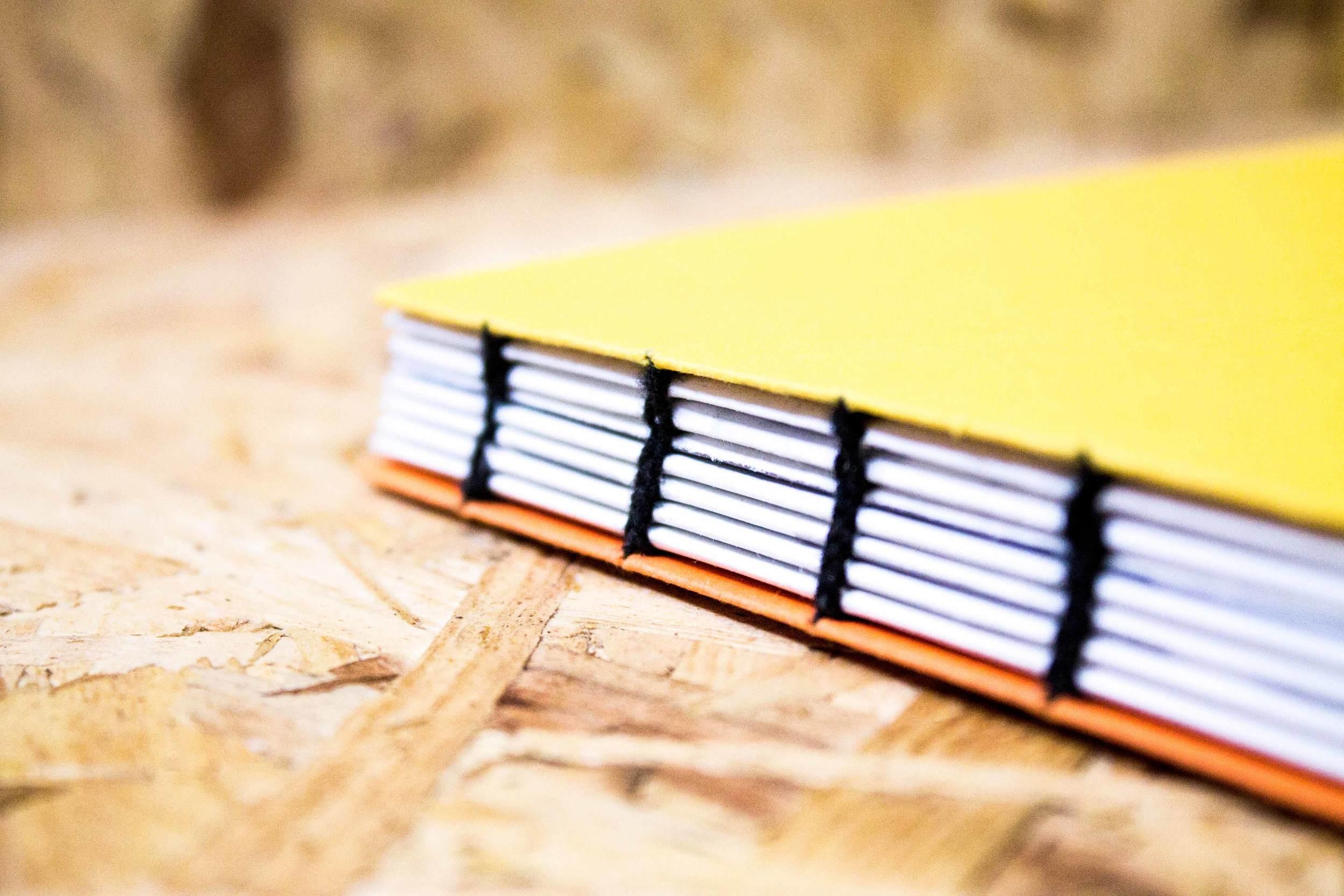 Coptic bound books
