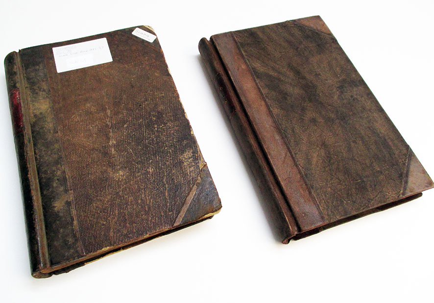 Replica books for whisky museum