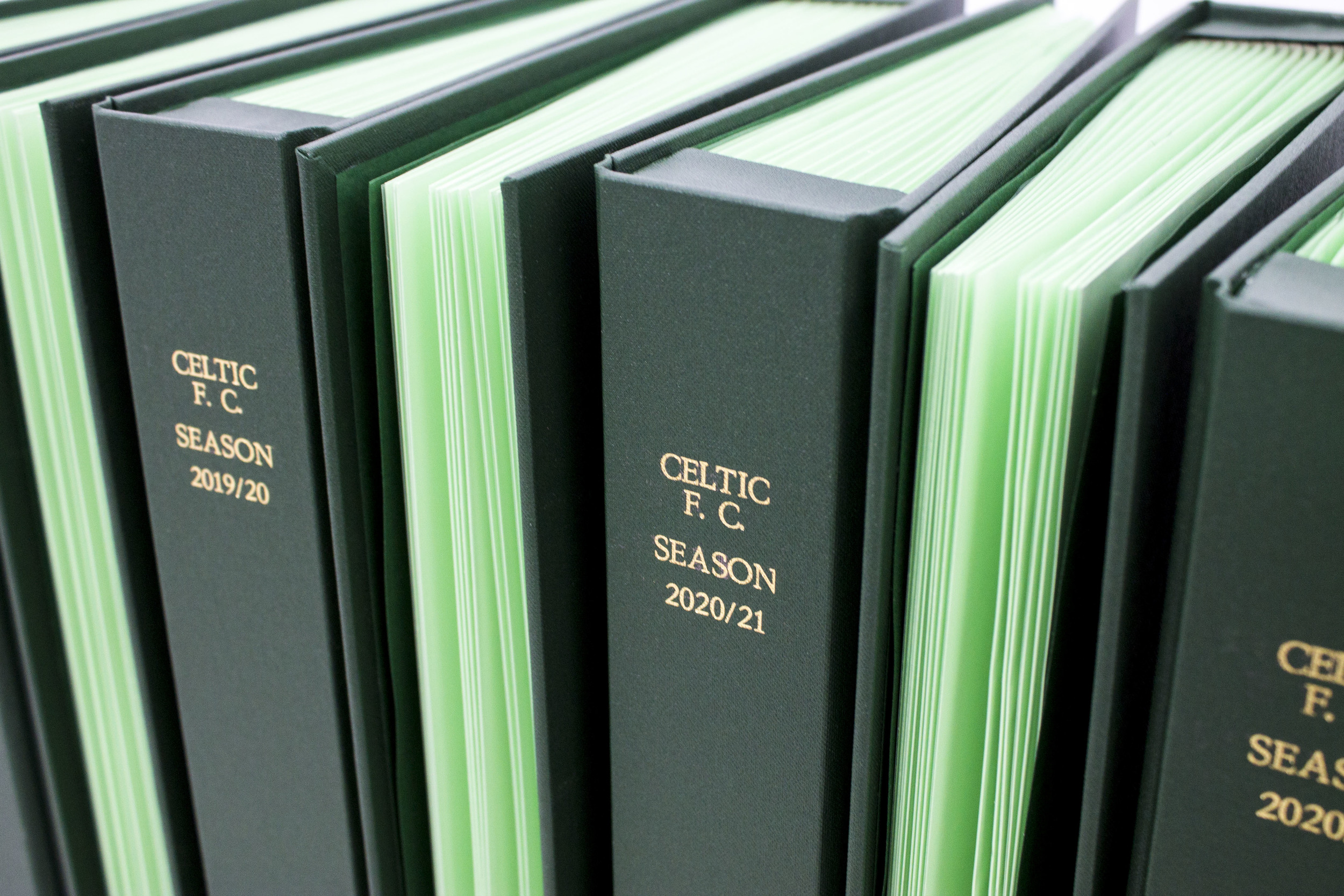 Celtic Football Programme Binders