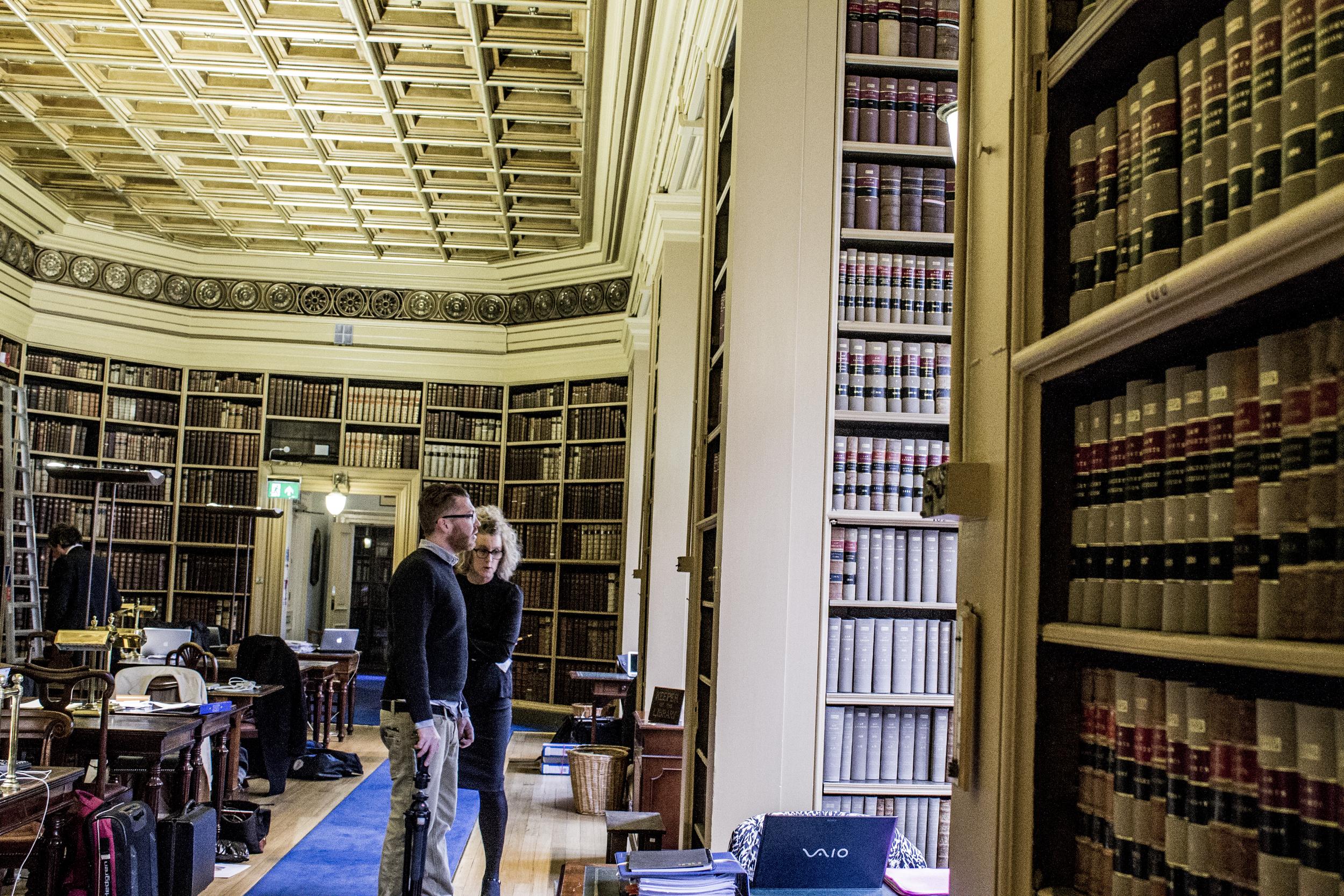 Library repair