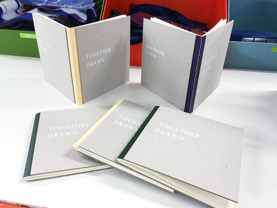 Books external sewing