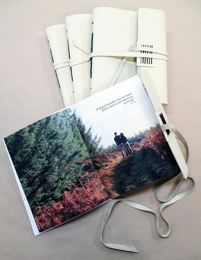 Bespoke books for artist