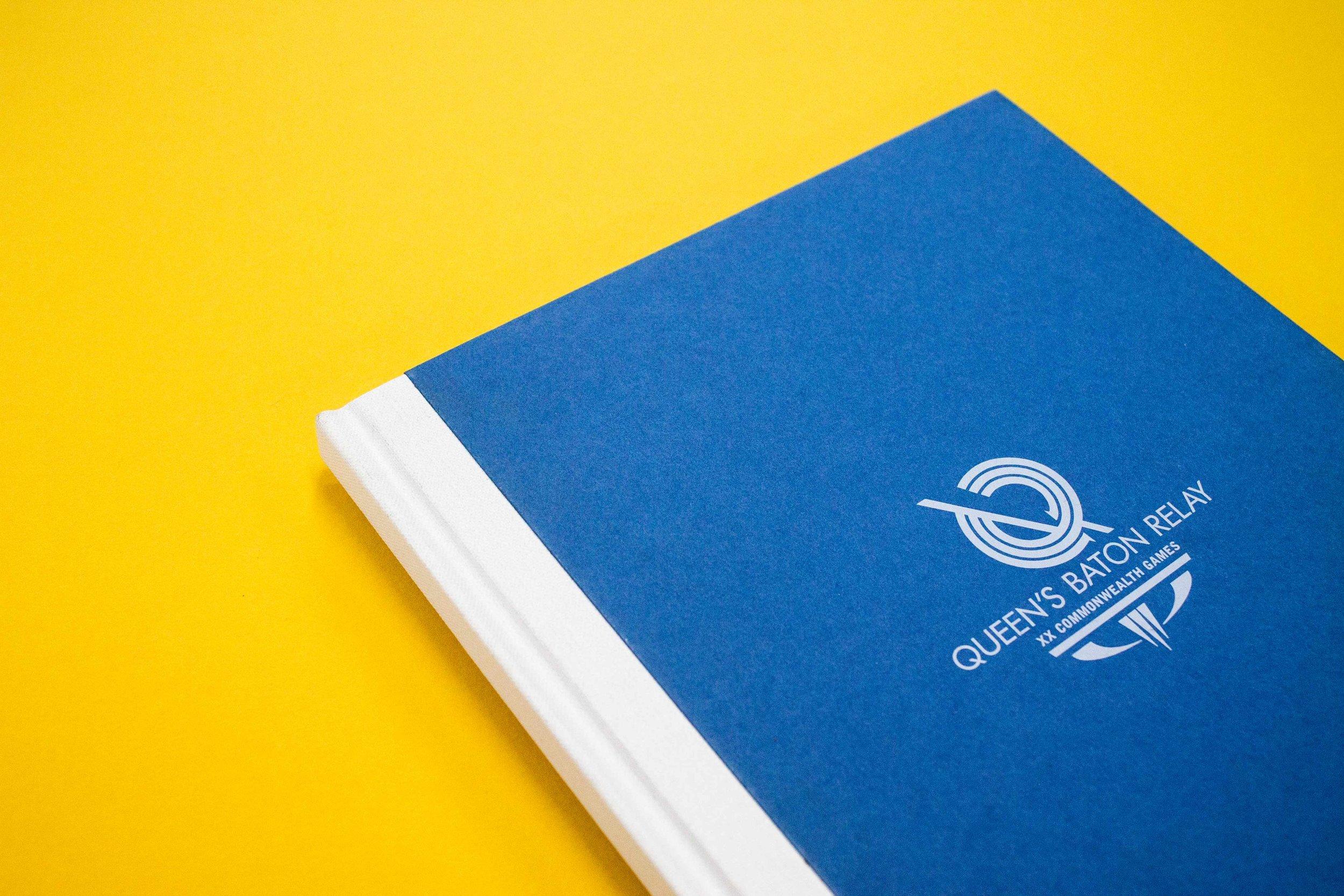 Small run book Commonwealth Games