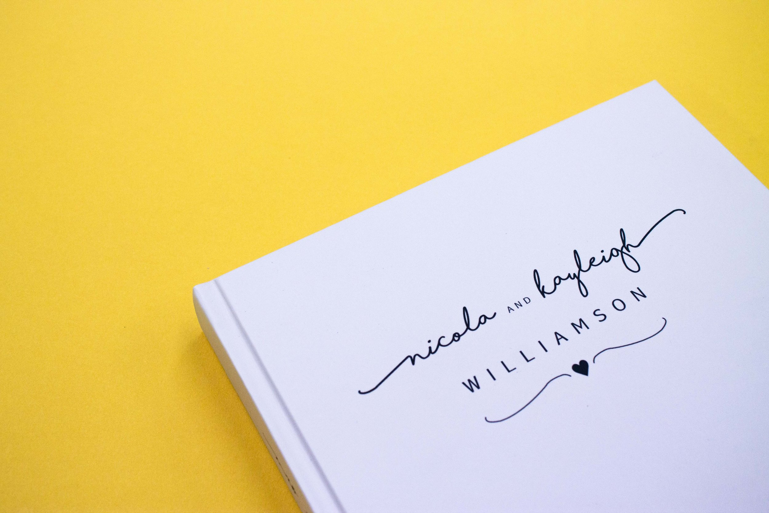 Small run book printed cover