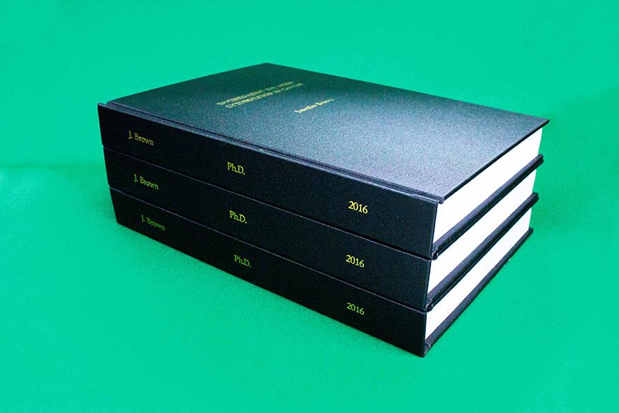 dissertation binding phd