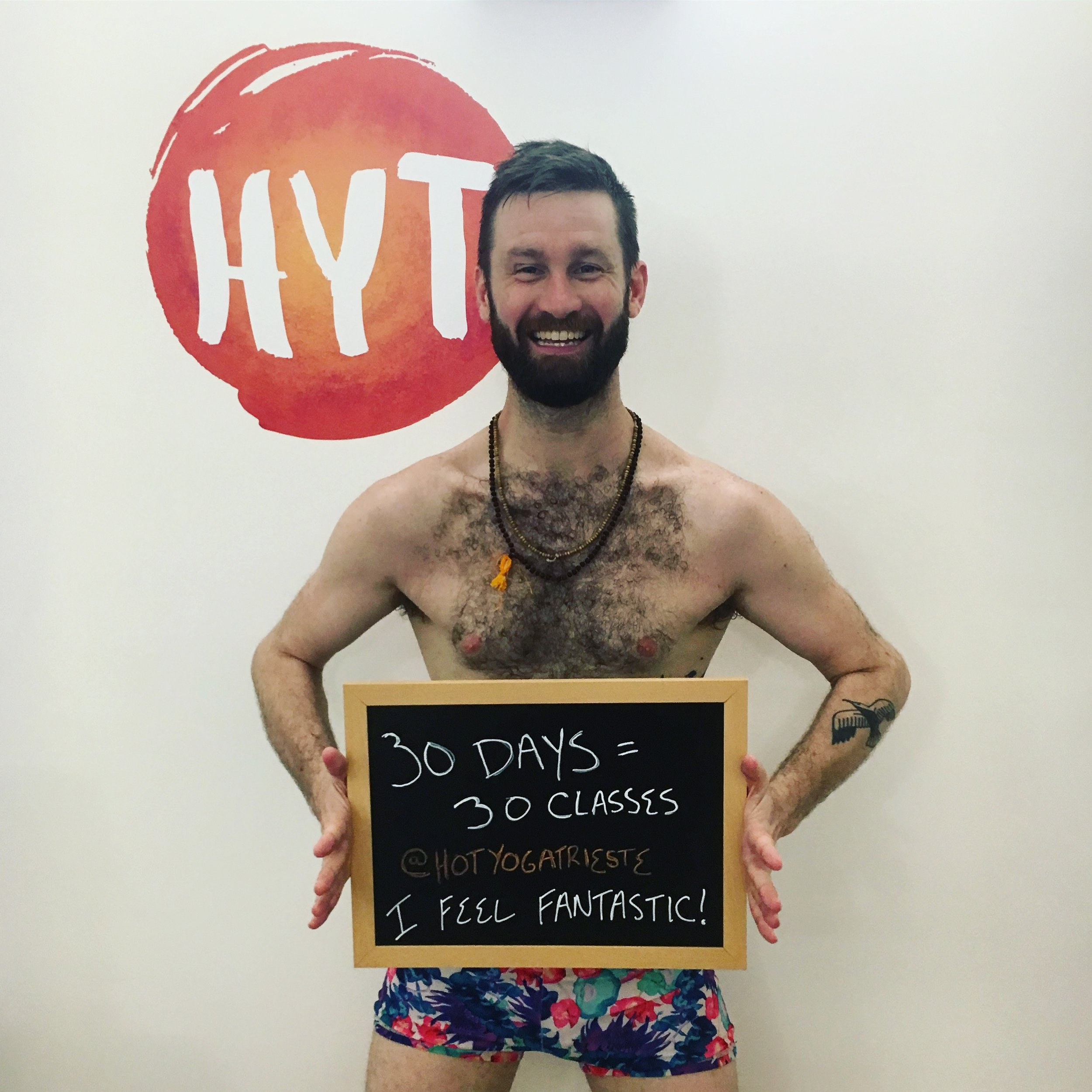 Bikram Hot Yoga 30 Days Challenge