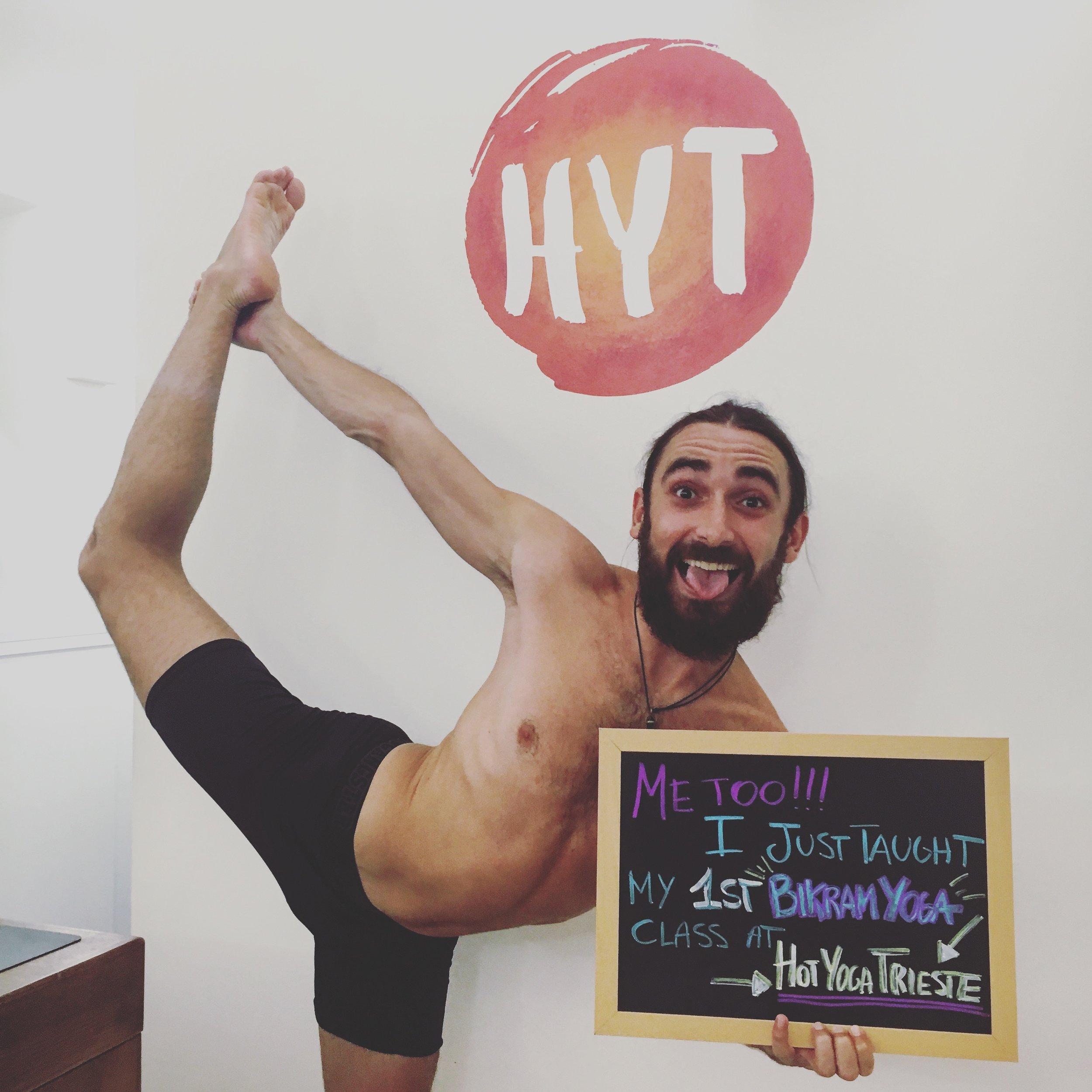 Bikram Yoga Teacher at Hot Yoga Trieste