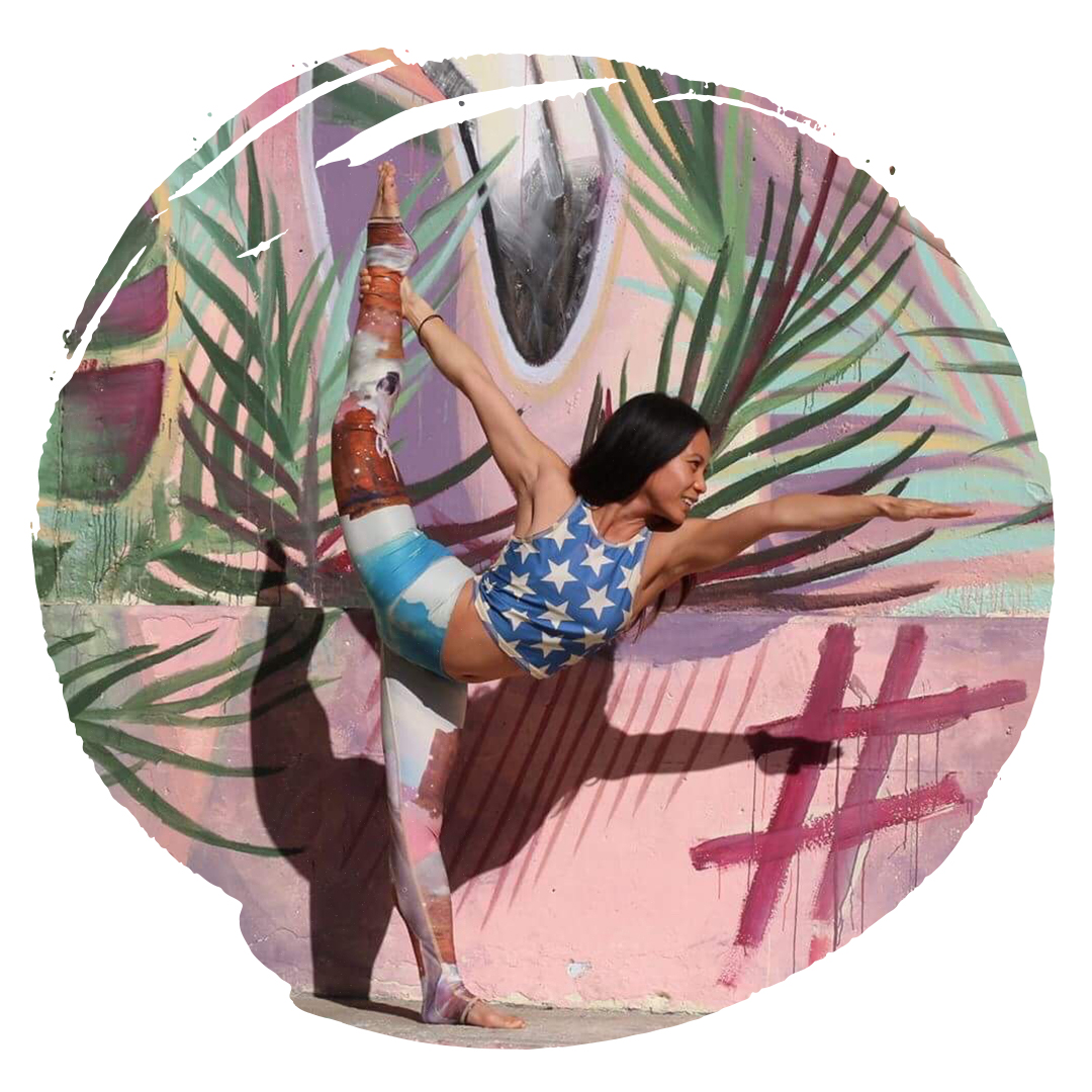 Katrina Robles Bikram Yoga Teacher Trieste Standing Bow