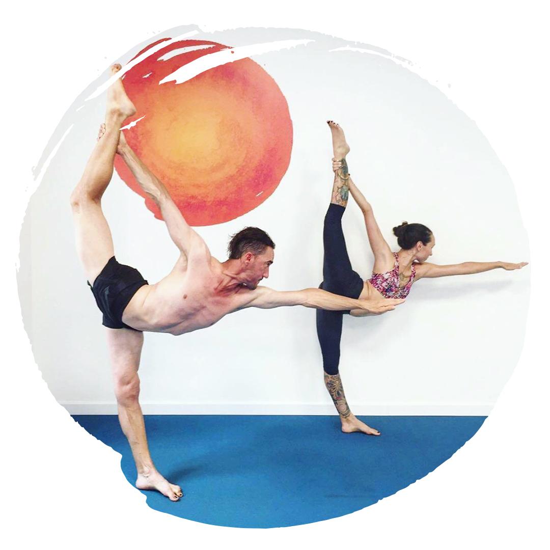 Roxanne and Marc Yoga Teachers