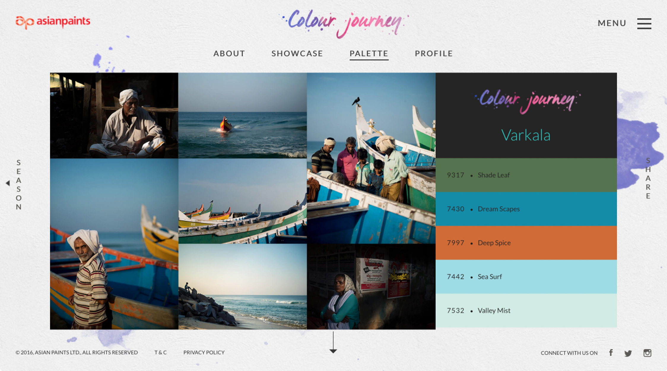 Colour Journey by Asian Paints / Agency : Glitch