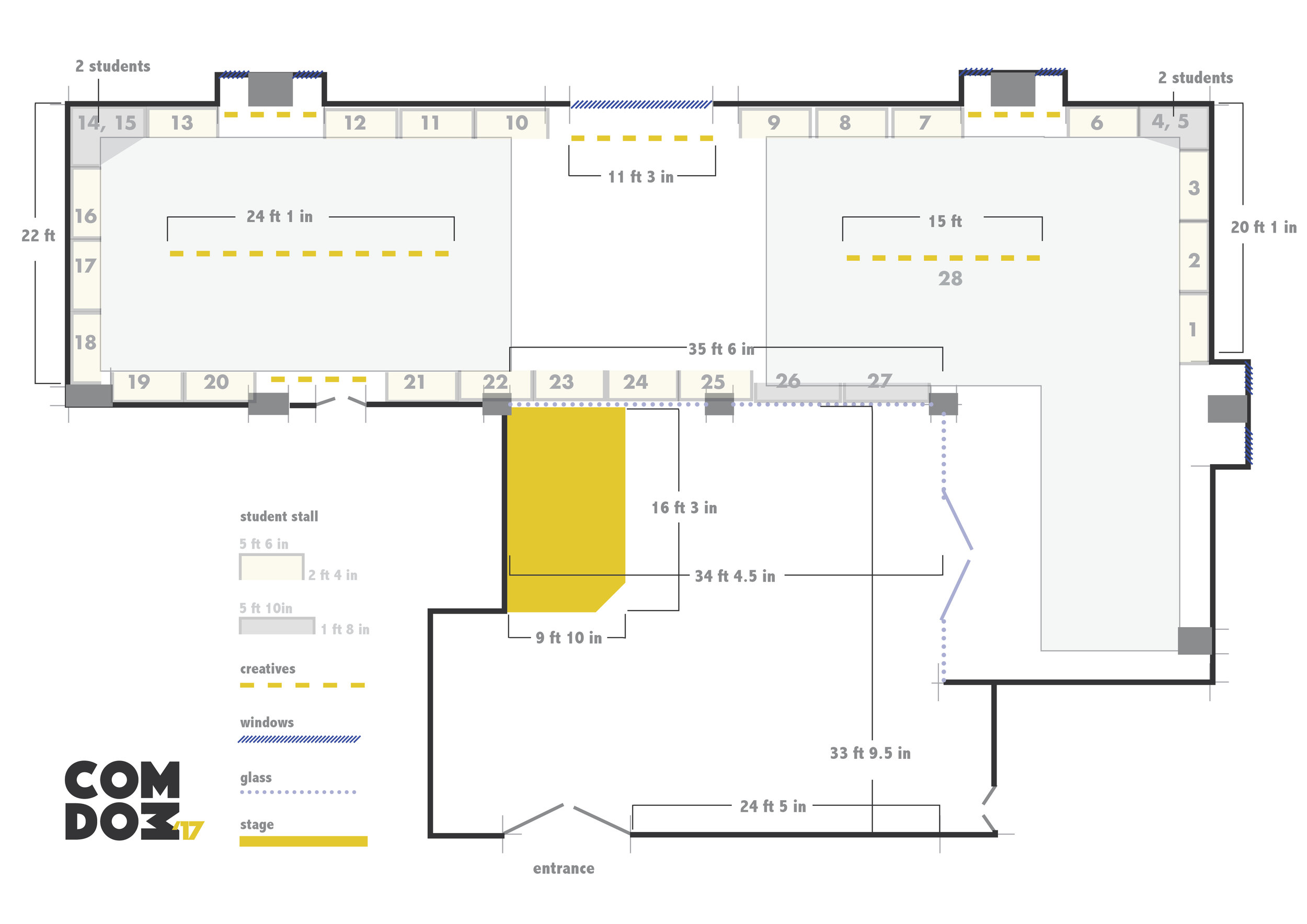 Floor Plan - Venue : ICCR, Kolkata