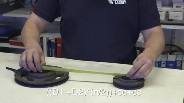 Formel för att mäta remstorlek