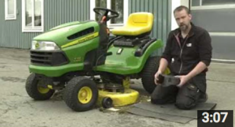 byta gräsklipparrem
