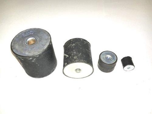 Cylindriska vibrationsdämpare typ C