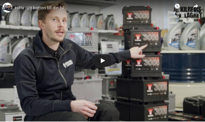 Batteriguiden för bilbatterier
