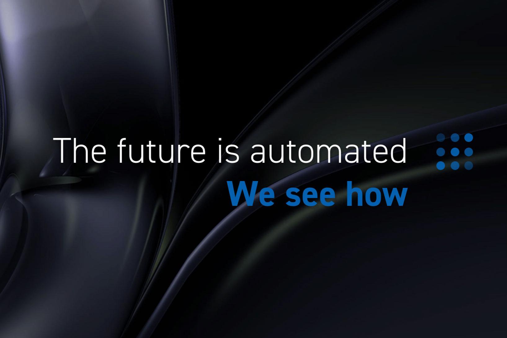 """Merkevare - Merkevarebygging er m.a. å skape ein enkel, overordna kommunikasjon. Forretningsidéen er digitalisering og automatisering av prosessar basert på sensorteknologi. Vi kom opp med merkeløftet """"The future is automated. We see how"""". Dekkande - og ein enkel start på """"elevator pitchen""""."""