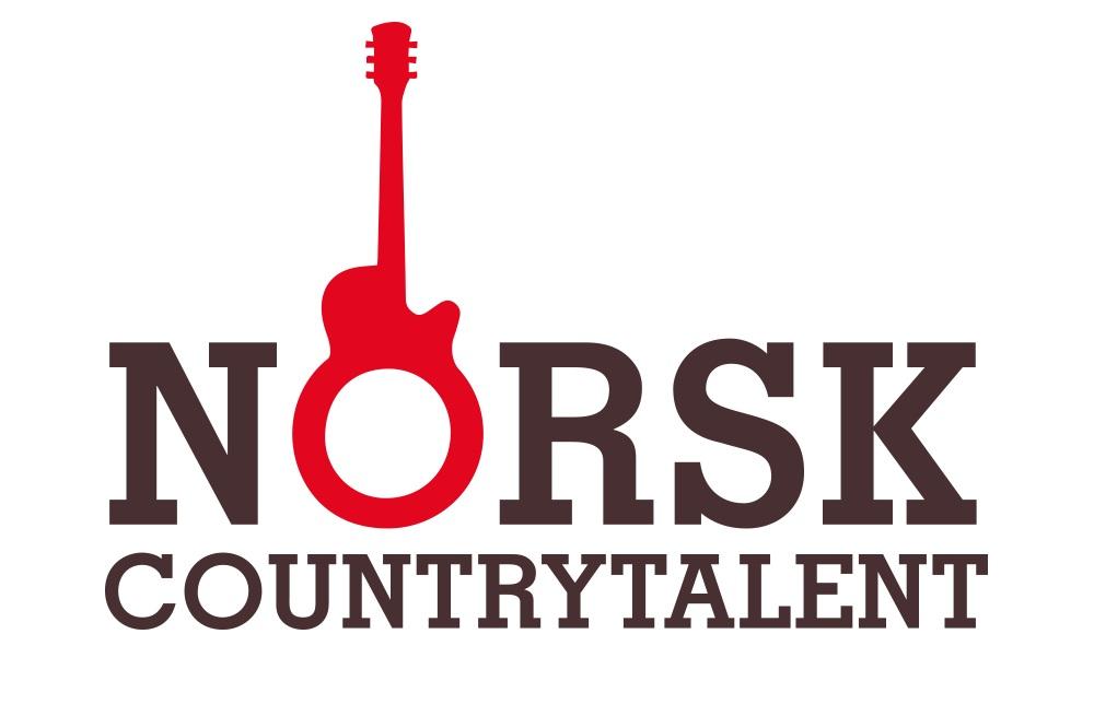 Logo Norsk Countrytalent - Talentkonkurranse for ungdom. Vi utvikla logo med logotype og symbol i same form. Enkelt og genialt, spør du oss:-)