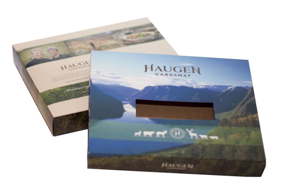 Emballasje - Vi utvikla ei standard-emballasje til kjøtprodukta, som dei kan bruke til butikk og på Bondens marked.