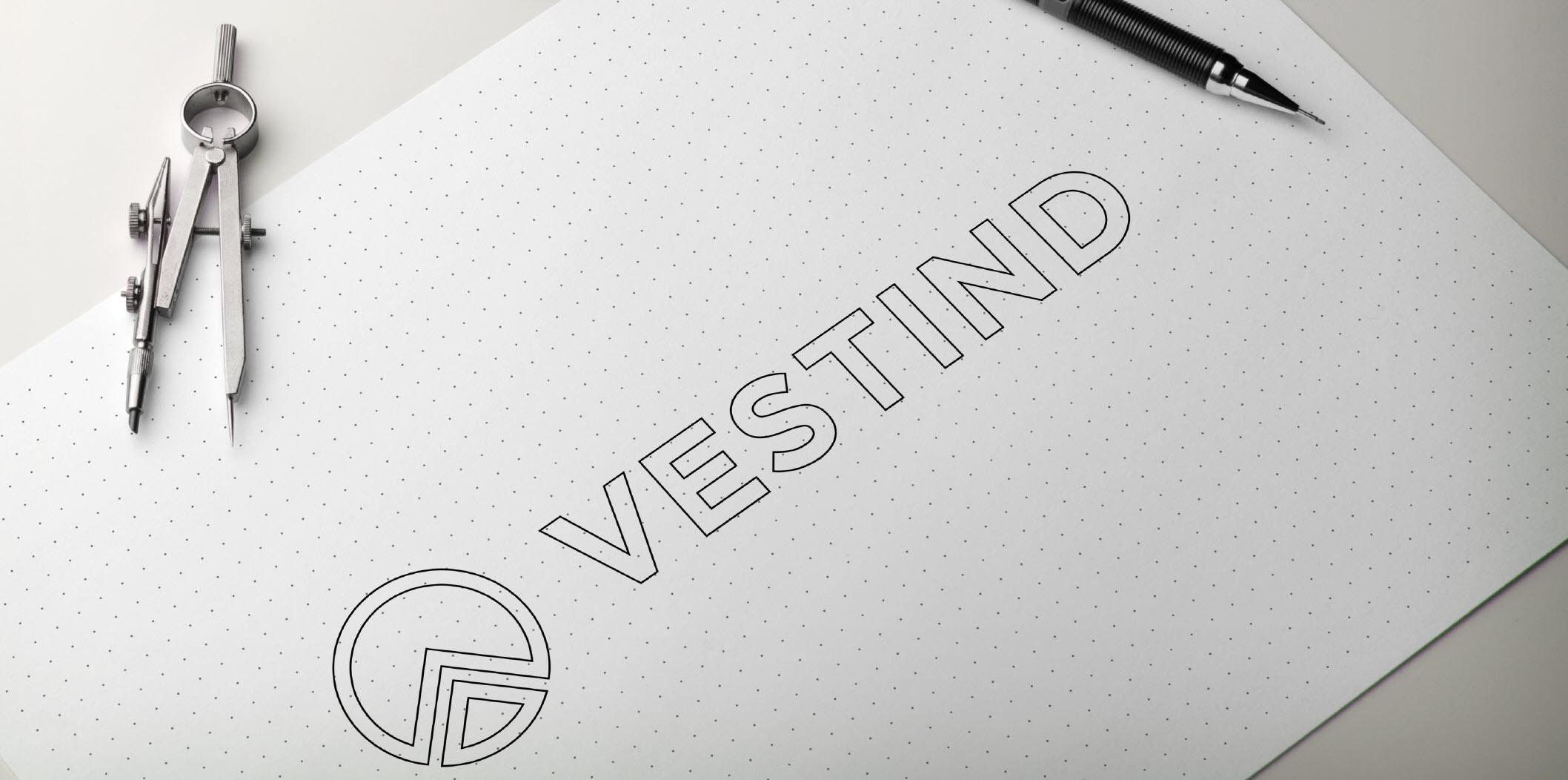 Logo og visuell profil - Kunde ønskte seg ein enkel, stilrein profil med få fargar.
