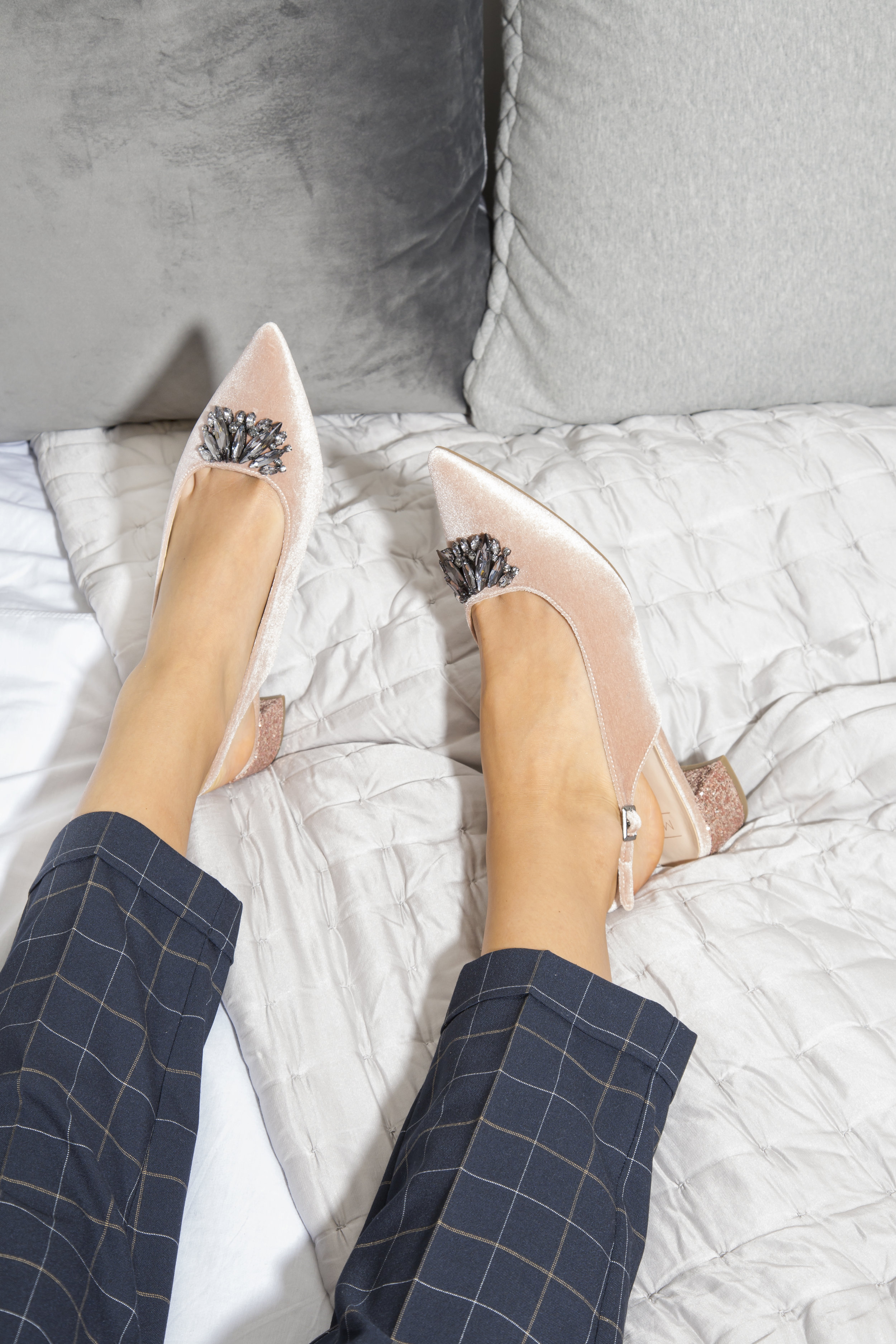 The Occasion Heel - Wear with checked trousers