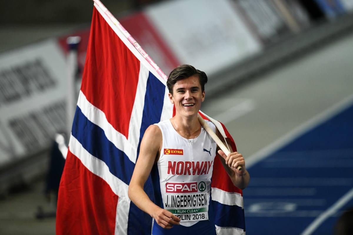 Jakob fikk to gullmedaljer i EM i Berlin, 2018. Kanskje han fikk ros også? Foto: Erik van Leeuwen.