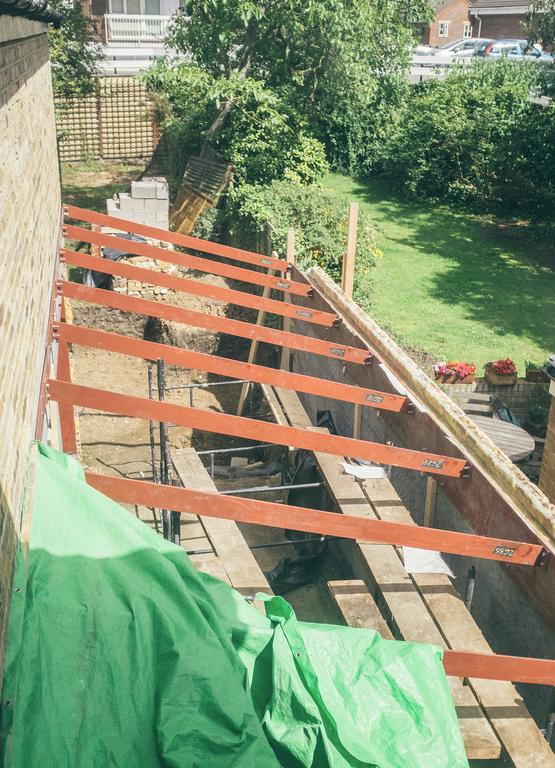 Extension structure. Photo: Amy Smyth