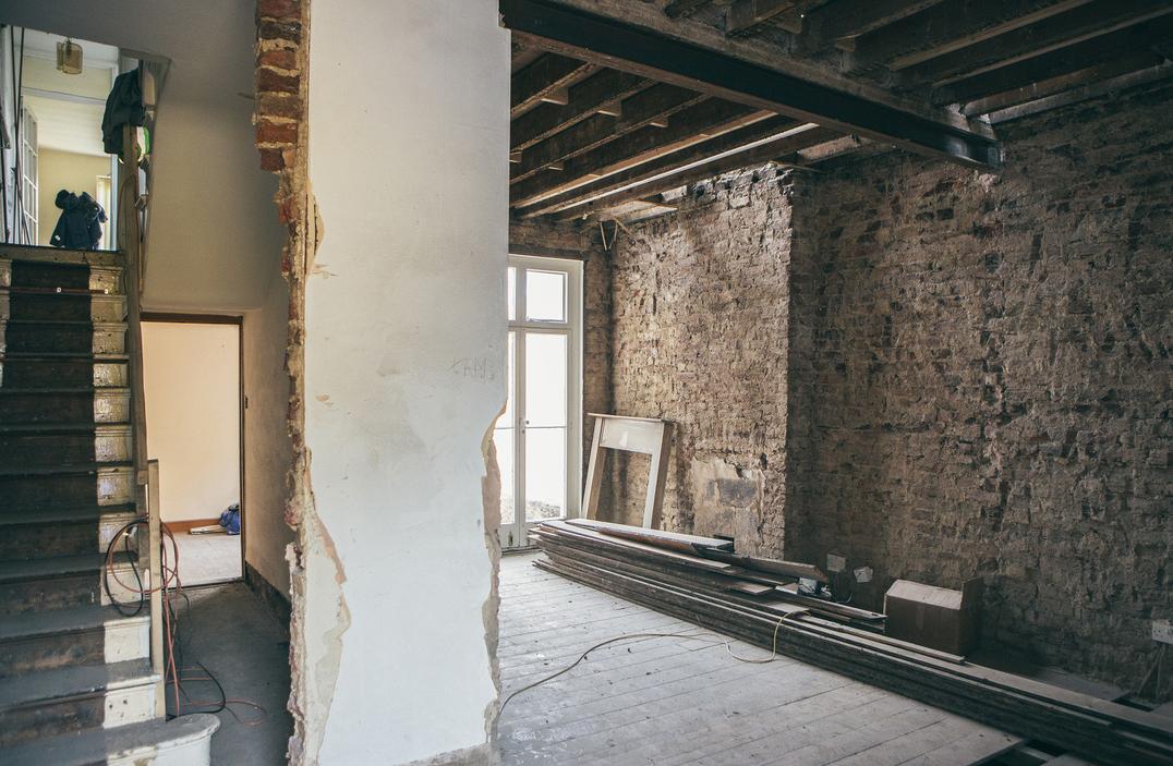 Demolition done. Photo: Amy Smyth