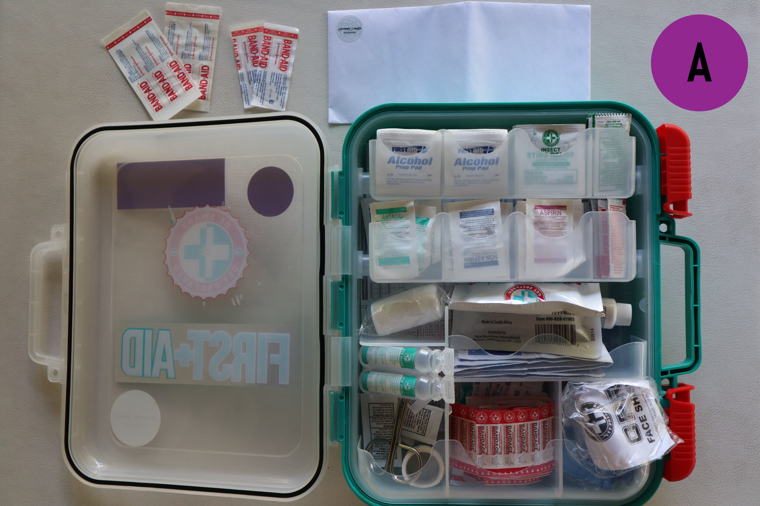 Wedding First Aid Kit