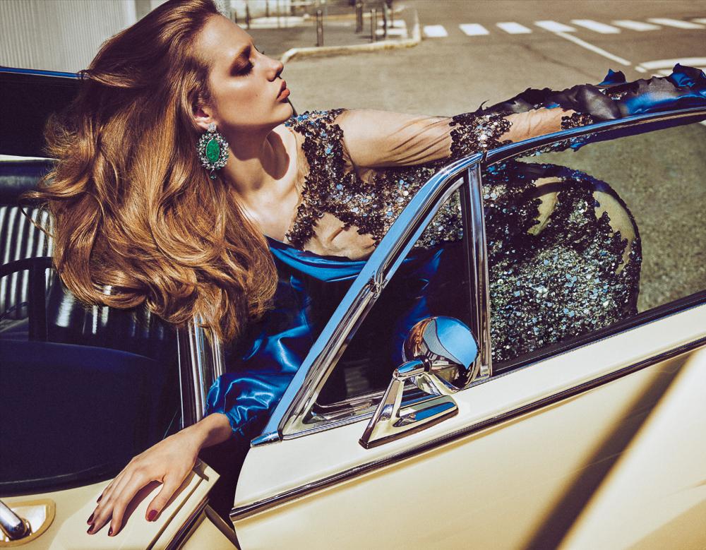 Vogue Japan September 2016 Odette Pavlova by Luigi & Iango
