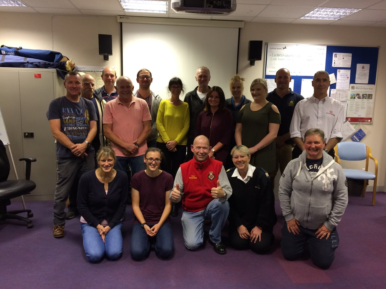 Isle of Wight Ambulance Community First Responders and Fire Co-Responders 2018