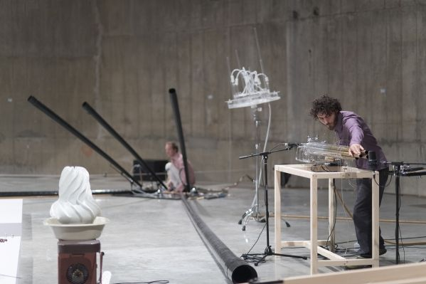 Tarek Atoui: The Reverse Collection, 2014, installation Tate Photography