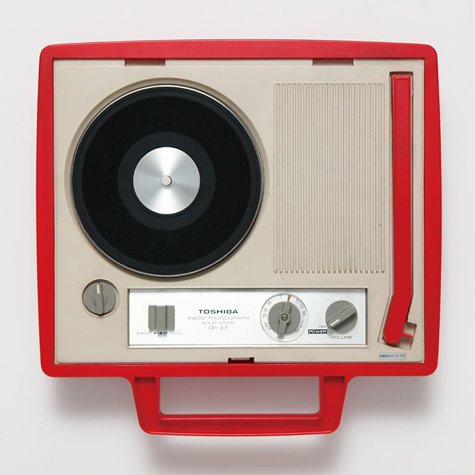 Portable Japanese record player exhibition — TWMW