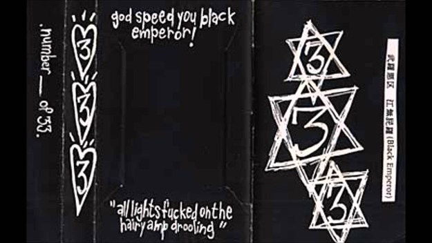 Godspeed You! Black Emperor, All lights fucked on the hairy amp drooling