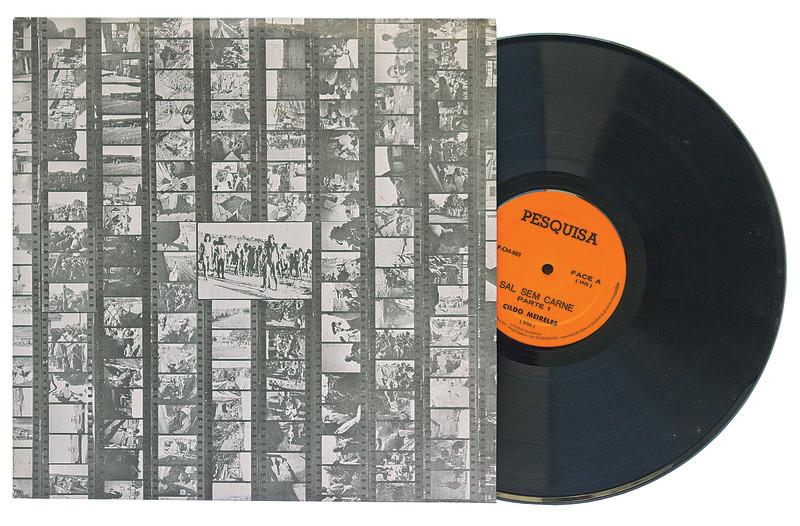 Cildo Meireles, Sal sem Carne (Salt without Meat) Bergamin & Gomide  Vinyl disc 31.0 × 31.0 Size (cm)