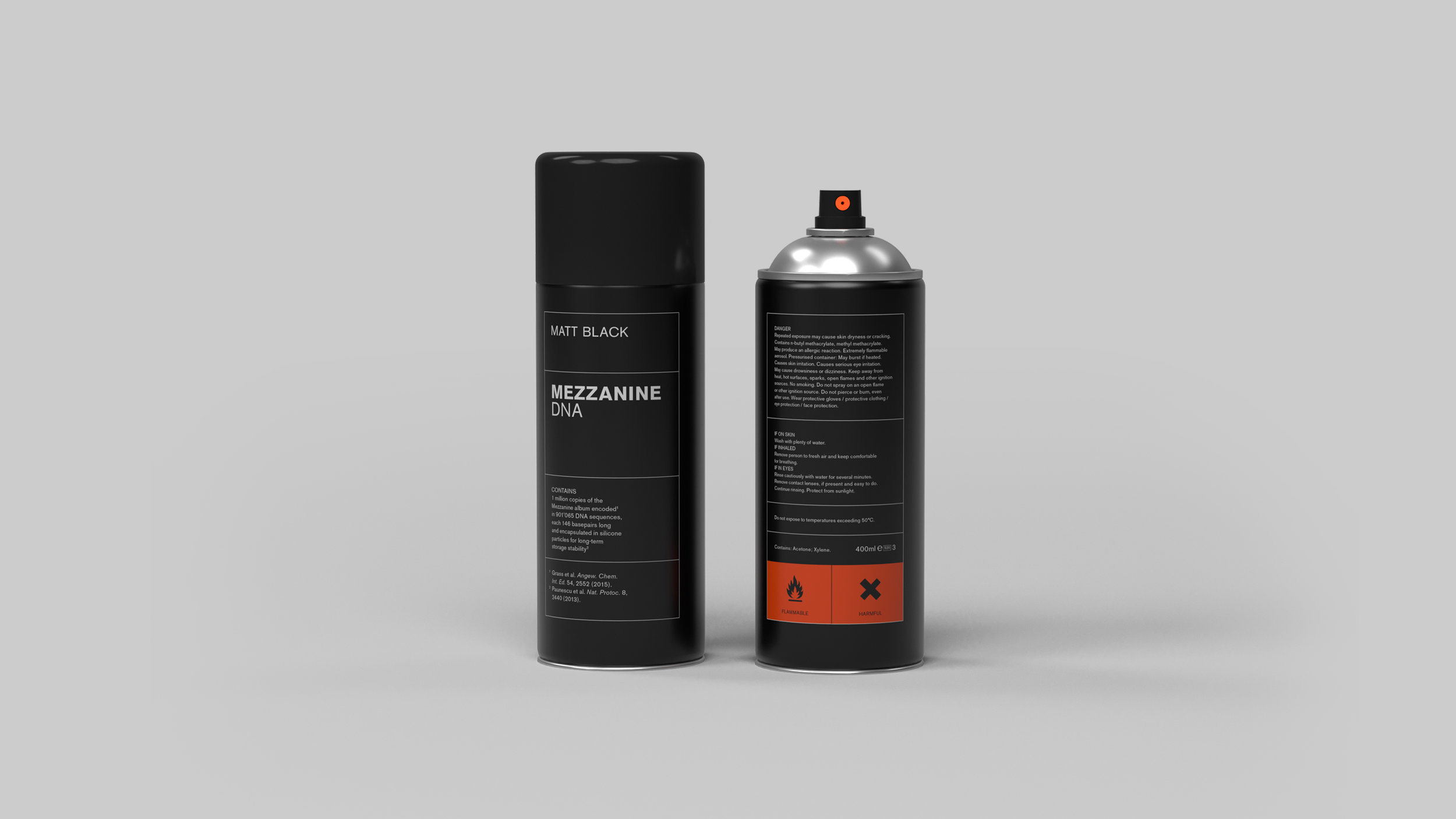 Massive Attack - DNA Spray Paint