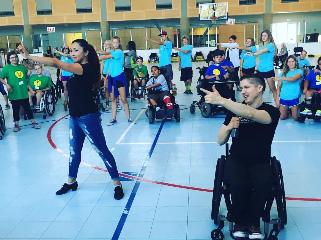 At Cottage Rehabilitation Hospital Junior Wheelchair Sports Camp