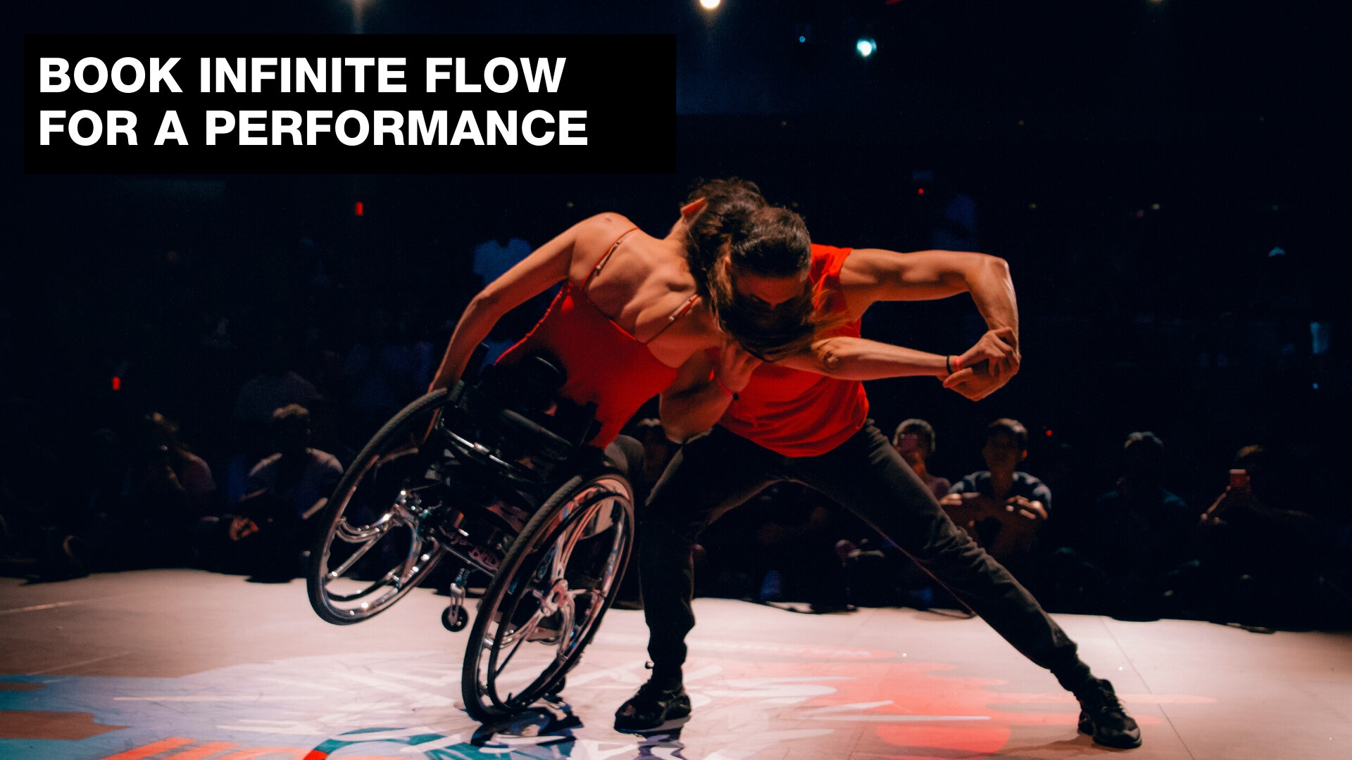 Book Infinite Flow for a Performance