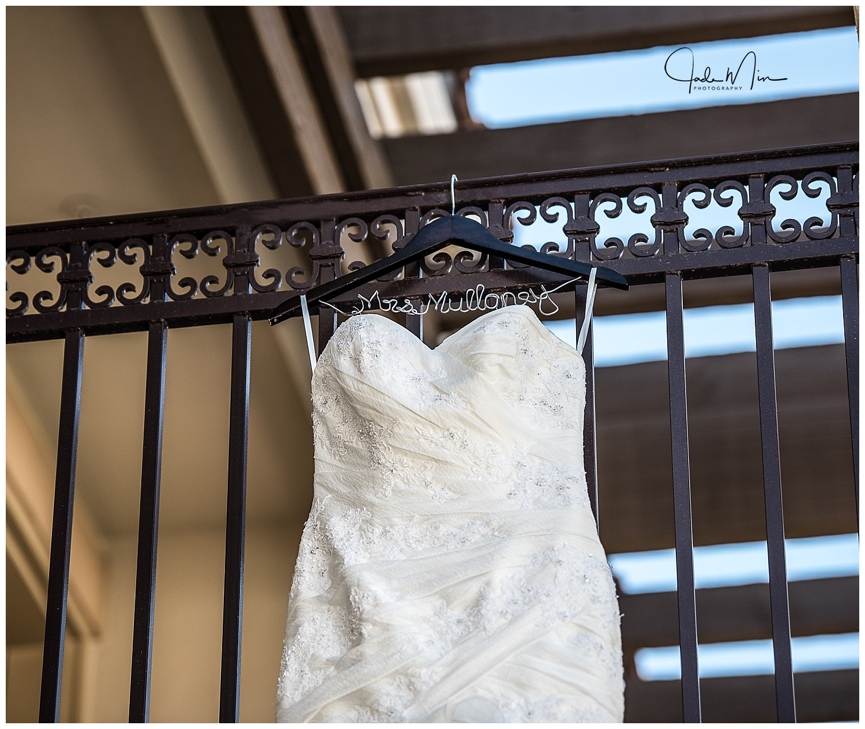 Wedding Dress, Custom Hanger